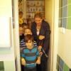 A gyerekek birtokba vehették a felújított  mosdókat